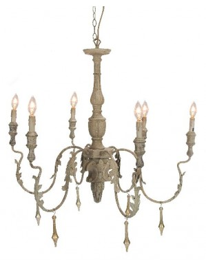 Aidan Gray Charlemagne Chandelier - Click Image to Close
